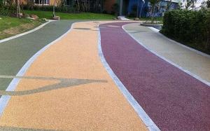 彩色透水路面